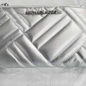 Michael Kors Peyton Quilted Leather Wristlet